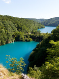 Plitvice Lakes National Park  UNESCO World Heritage Site  Croatia  Europe