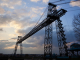 Transporter Bridge  Newport  Gwent  South Wales  Wales  United Kingdom  Europe