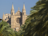 West Front  Palma Cathedral (La Seu)  Palma De Mallorca  Mallorca (Majorca)  Balearic Islands  Spai