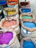 Pigments and Spices for Sale  Medina  Tetouan  UNESCO World Heritage Site  Morocco  North Africa  A