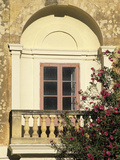 Close Up of Window  Mdina  Malta  Mediterranean  Europe