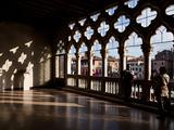 Ca' D'Oro (House of Gold)  (Palazzo Santa Sofia)  Grand Canal  Venice  UNESCO World Heritage Site