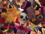 Pinatas  Market  Xochimilco  Mexico City  Mexico  North America