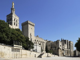 Notre Dame Des Doms Cathedral and Palais Des Papes (Papal Palace)  UNESCO World Heritage Site  Avig