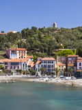 A View of the Beach at Collioure in Languedoc-Roussilon  France  Europe