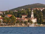 The Waterfront  Cavtat  Dalmatia  Croatia  Europe