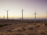 Wind Turbines Just Outside Mojave  California  United States of America  North America