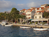 Traditional Fishing Boats and Waterfront  Cavtat  Dalmatia  Croatia  Europe