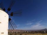 Windmill Near Valle De Santa Ines  Fuerteventura  Canary Islands  Spain  Europe