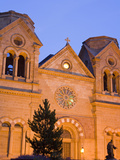 Cathedral Basilica of St Francis of Assisi  Santa Fe  New Mexico  United States of America  North
