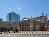Ukraine National Opera House  Kiev  Ukraine  Europe