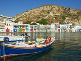 Klima  Old Fishing Village  Milos Island  Cyclades Islands  Greek Islands  Aegean Sea  Greece  Euro