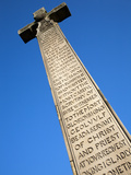 Bedes Memorial Cross  Roker  Sunderland  Tyne and Wear  England  United Kingdom  Europe