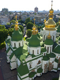 St Sophia Cathedral Complex  UNESCO World Heritage Site  Kiev  Ukraine  Europe