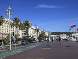 Promenade Des Anglais  Nice  Alpes Maritimes  Cote D'Azur  French Riviera  Provence  France  Europe