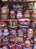 Talavera Pottery  El Parian Market  Puebla  Historic Center  Puebla State  Mexico  North America