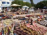 Pottery Products in the Market at Houmt Souk  Island of Jerba  Tunisia  North Africa  Africa