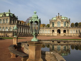 Zwinger Palace  Dresden  Saxony  Germany  Europe