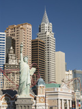 New York-New York Hotel and Replica of Statue of Liberty  Las Vegas  Nevada  United States of Ameri