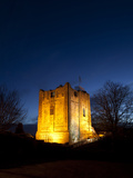 Guildford Castle at Dusk  Guildford  Surrey  England  United Kingdom  Europe