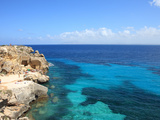 Rocks and Sea  Trapani  Favignana Island  Sicily  Italy  Mediterranean  Europe