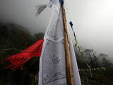 Prayer Flags  Khumbu Region  Nepal  Asia