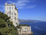 Oceanography Museum  Monaco  Cote D'Azur  Mediterranean  Europe