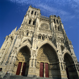 Notre Dame Cathedral  UNESCO World Heritage Site  Amiens  Picardy  France  Europe