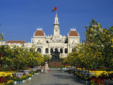 Hotel De Ville (Ho Chi Minh City Hall) Decorated for Chinese New Year  Ho Chi Minh City (Saigon)  V
