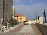 Picasso Museum  Old Town  Vieil Antibes  Antibes  Cote D'Azur  French Riviera  Mediterranean  Prove