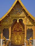 Wat Phan Tao  Chiang Mai  Chiang Mai Province  Thailand  Southeast Asia  Asia