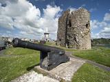 Tenby Castle  Tenby  Pembrokeshire  Wales  United Kingdom  Europe