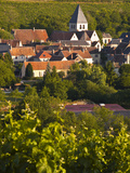The Village of Sury En Vaux Near to the Famous Vineyards of Sancerre  Cher  Loire Valley  Centre  F