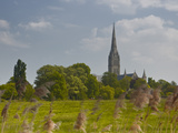 Salisbury Cathedral  Salisbury  Wiltshire  England  United Kingdom  Europe