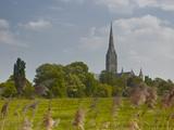 Salisbury Cathedral  Salisbury  Wiltshire  England  United Kingdom  Europe