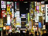 Neon Signs  Kabukicho  Shinjuku  Tokyo  Japan  Asia