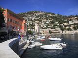 Harbor  Villefranche Sur Mer  Alpes Maritimes  Cote D'Azur  French Riviera  Provence  France  Europ