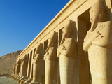 Temple of Hatshepsut  Deir El Bahari  Thebes  UNESCO World Heritage Site  Egypt  North Africa  Afri