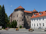 The Frankopan Castle  Built in the 16th Century Close the Gorge of the River Dobra  Ogulin  Karlova