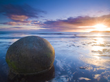 Moeraki Boulders  Otago  South Island  New Zealand  Pacific