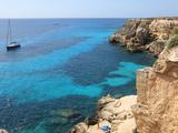 Cliff  Favignana  Sicily  Italy  Mediterranean  Europe