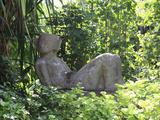 Chacmool Statue  Chankanaab National Park  Cozumel Island (Isla De Cozumel)  Quintana Roo  Mexico