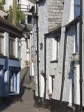 Back Streets in Looe  Cornwall  England  United Kingdom  Europe