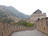 Great Wall of China  UNESCO World Heritage Site  Mutianyu  China  Asia
