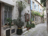 St Paul De Vence  Medieval Village  Alpes Maritimes  Cote D&#39;Azur  Provence  France  Europe