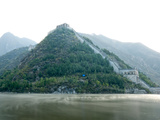 Jintang Lake and Great Wall of China  UNESCO World Heritage Site  Huanghuacheng (Yellow Flower) at
