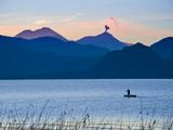 Lake Atitlan  Western Highlands  Guatemala  Central America