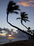 Bavaro Beach at Sunrise  Punta Cana  Dominican Republic  West Indies  Caribbean  Central America