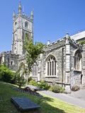 Fowey Parish Church in Fowey  Cornwall  England  United Kingdom  Europe
