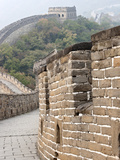 Close Up of Wall  Great Wall of China  UNESCO World Heritage Site  Mutianyu  China  Asia